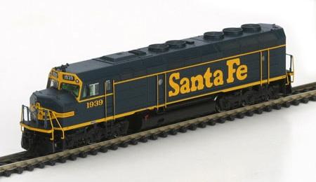 N Scale - Athearn - 16853 - Locomotive, Diesel, EMD F45 - Santa Fe - 1939