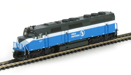 N Scale - Athearn - 15183 - Locomotive, Diesel, EMD F45 - Great Northern - 433