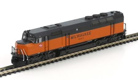 N Scale - Athearn - 16881 - Locomotive, Diesel, EMD FP45 - Milwaukee Road - 4