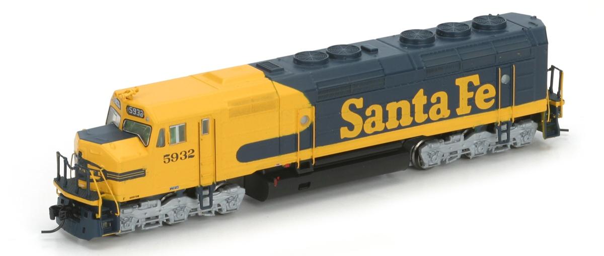 N Scale - Athearn - 16883 - Locomotive, Diesel, EMD F45 - Santa Fe - 5932