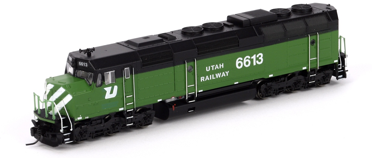 N Scale - Athearn - 22356 - Locomotive, Diesel, EMD F45 - Utah Railway - 6613