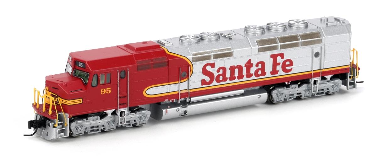 N Scale - Athearn - 22360 - Locomotive, Diesel, EMD FP45 - Santa Fe - 95