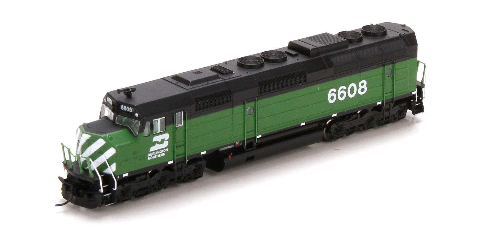 N Scale - Athearn - 22470 - Locomotive, Diesel, EMD F45 - Burlington Northern - 6608