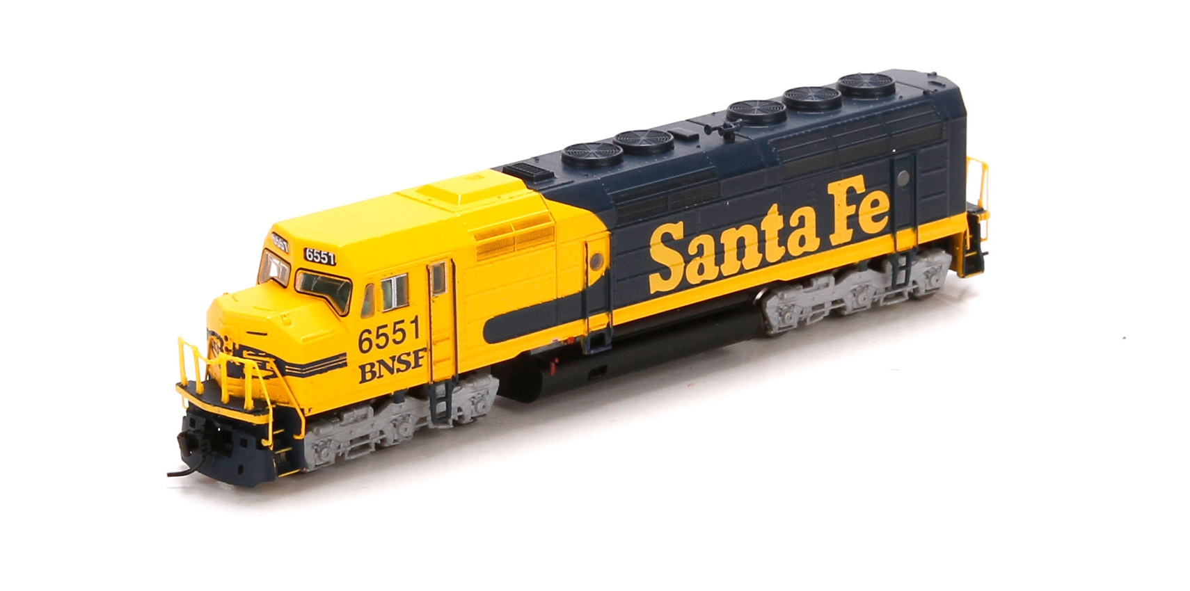 N Scale - Athearn - 22473 - Locomotive, Diesel, EMD F45 - Burlington Northern Santa Fe - 6551