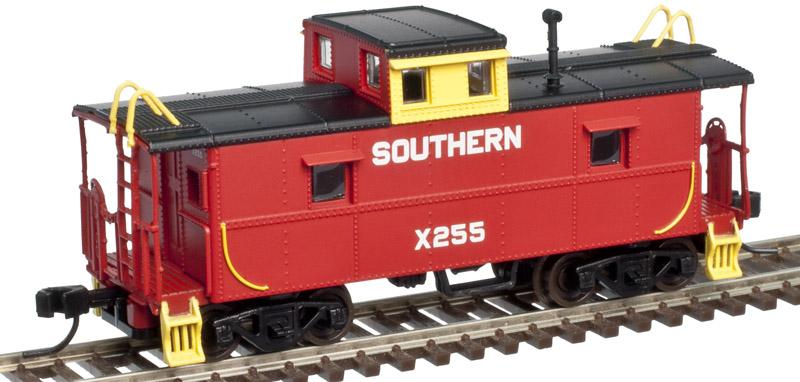 N Scale - Atlas - 50 002 592 - Caboose, Cupola, Steel, C&O - Southern - X255