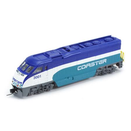 N Scale - Athearn - 10017 - Locomotive, Diesel, EMD F59PHi - Coaster - 3002