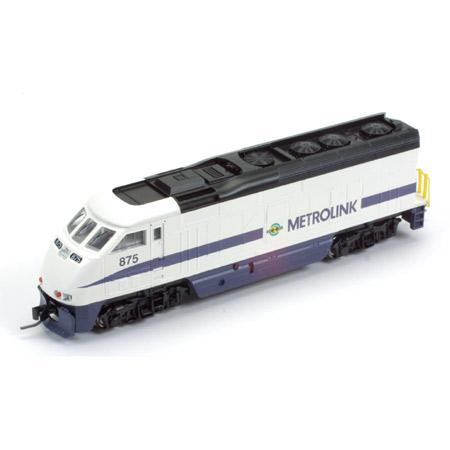 N Scale - Athearn - 10012 - Locomotive, Diesel, EMD F59PHi - Metrolink - 875