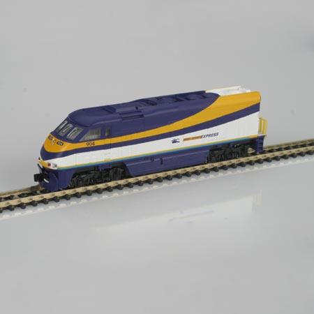 N Scale - Athearn - 10019 - Locomotive, Diesel, EMD F59PHi - West Coast Express - 904