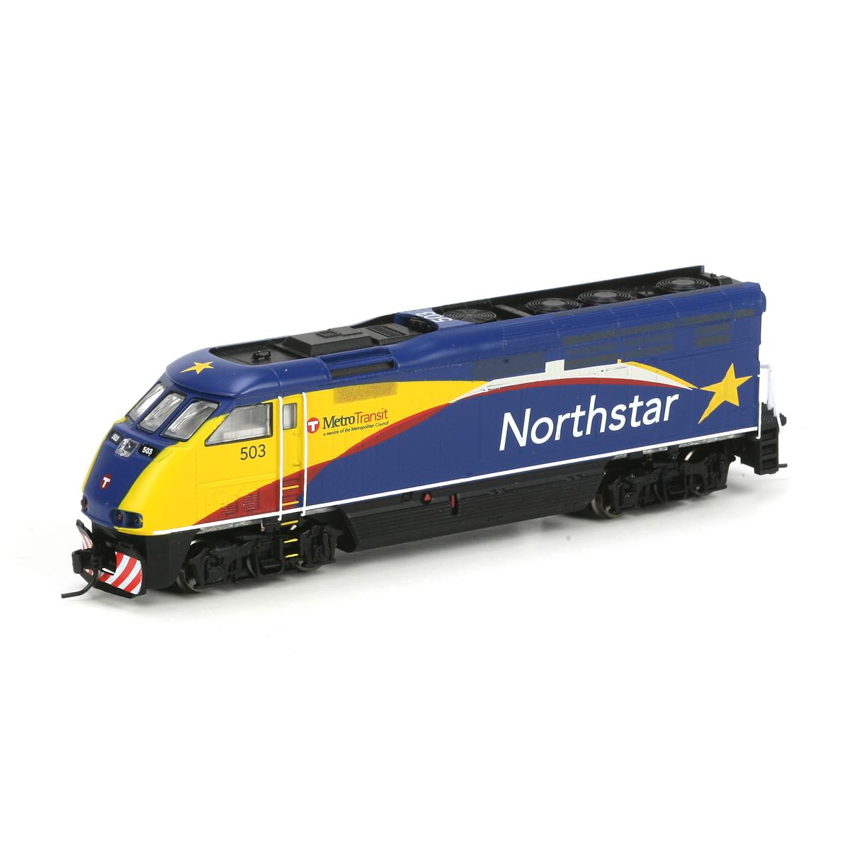 N Scale - Athearn - 23705 - Locomotive, Diesel, EMD F59PHi - Northstar Commuter - 503