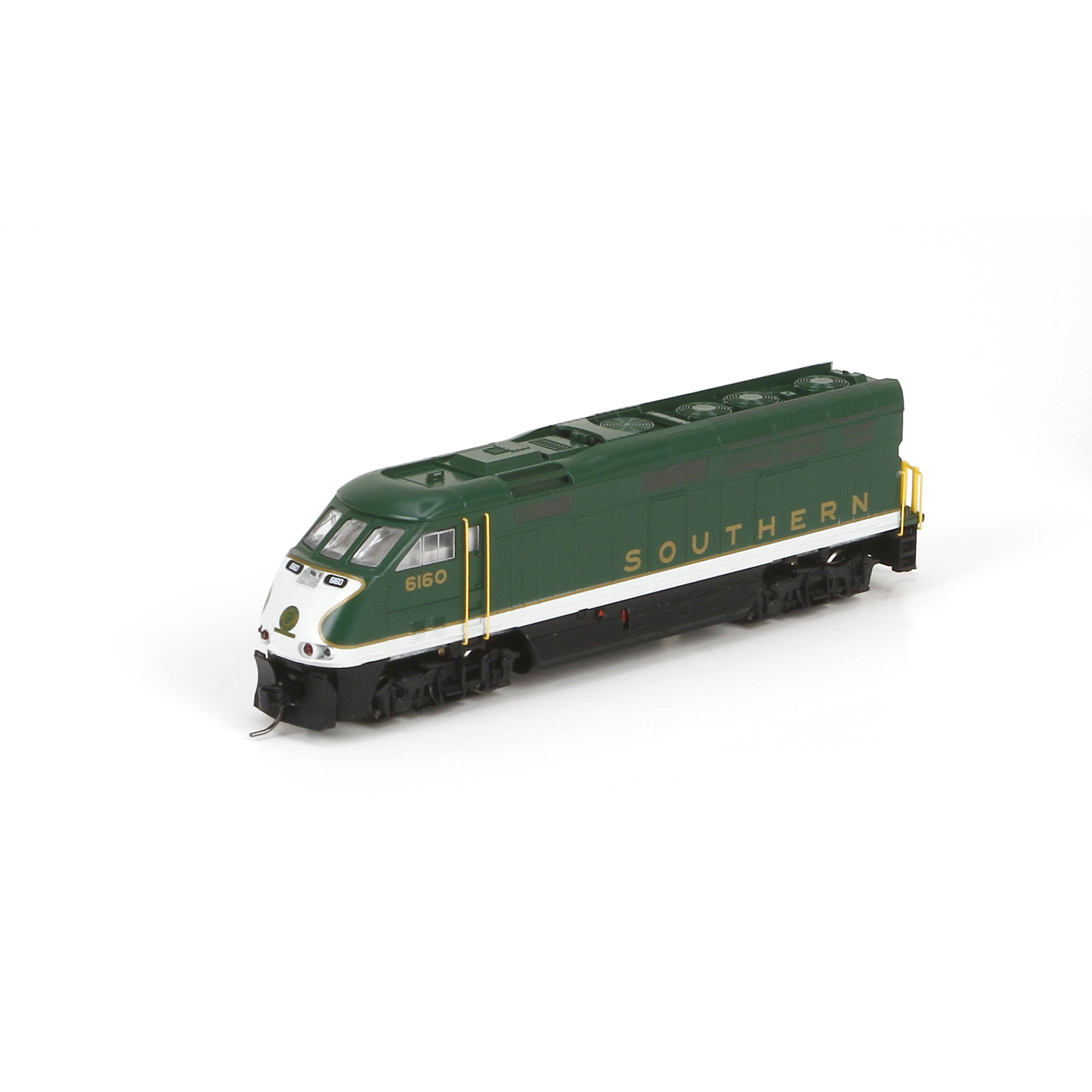 N Scale - Athearn - 23728 - Locomotive, Diesel, EMD F59PHi - Southern - 6160