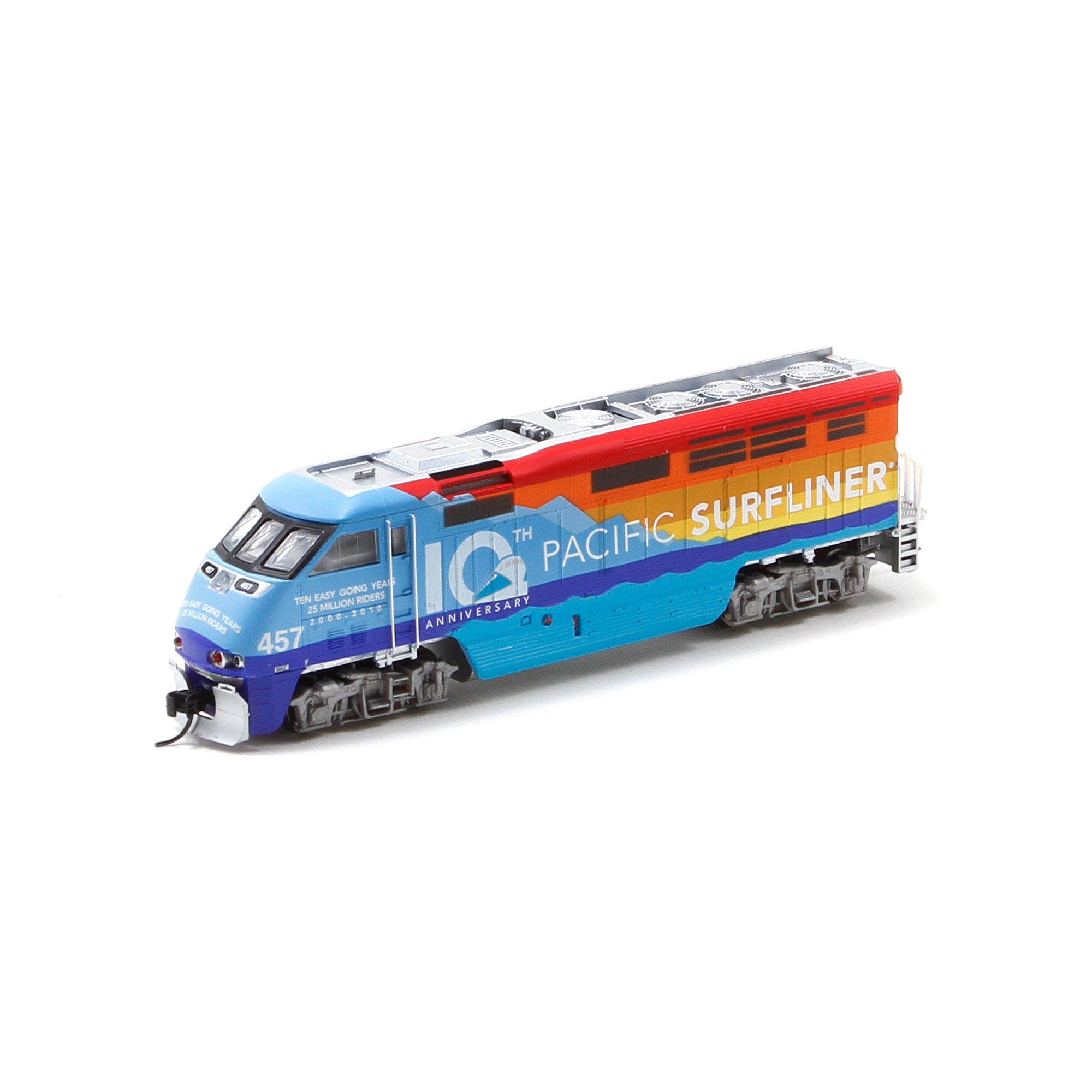 N Scale - Athearn - 23731 - Locomotive, Diesel, EMD F59PHi - Amtrak - 457