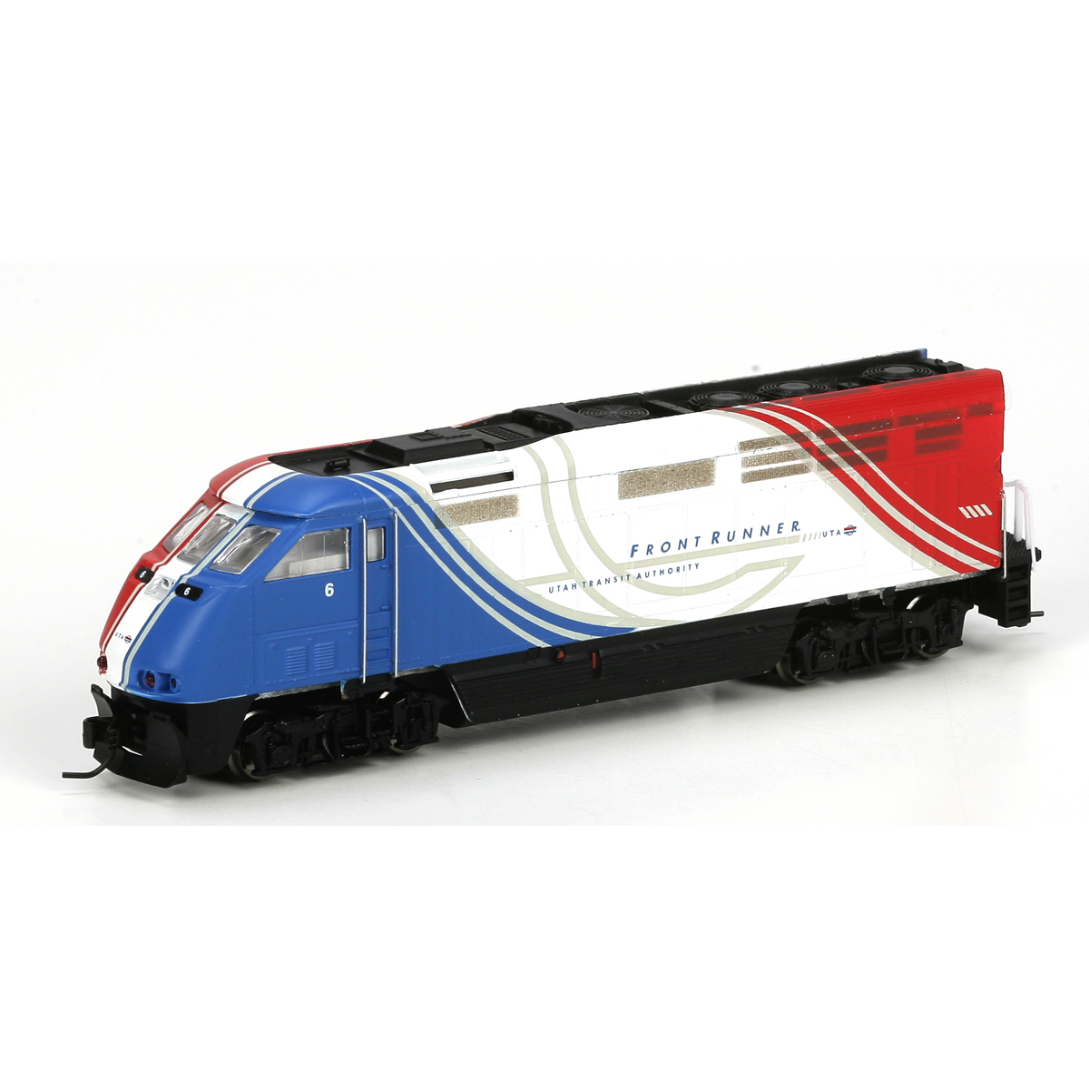 N Scale - Athearn - 23762 - Locomotive, Diesel, EMD F59PHi - FrontRunner - 6