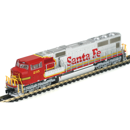 N Scale - Athearn - 10703 - Locomotive, Diesel, EMD SD75 - Santa Fe - 235