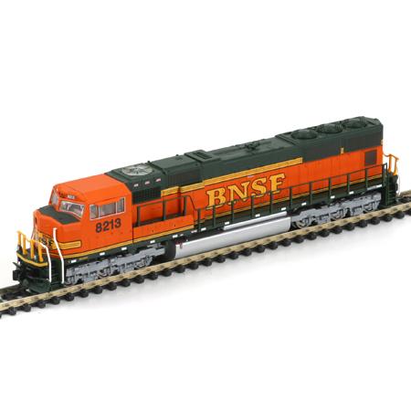 N Scale - Athearn - 10713 - Locomotive, Diesel, EMD SD75 - Burlington Northern Santa Fe - 8213