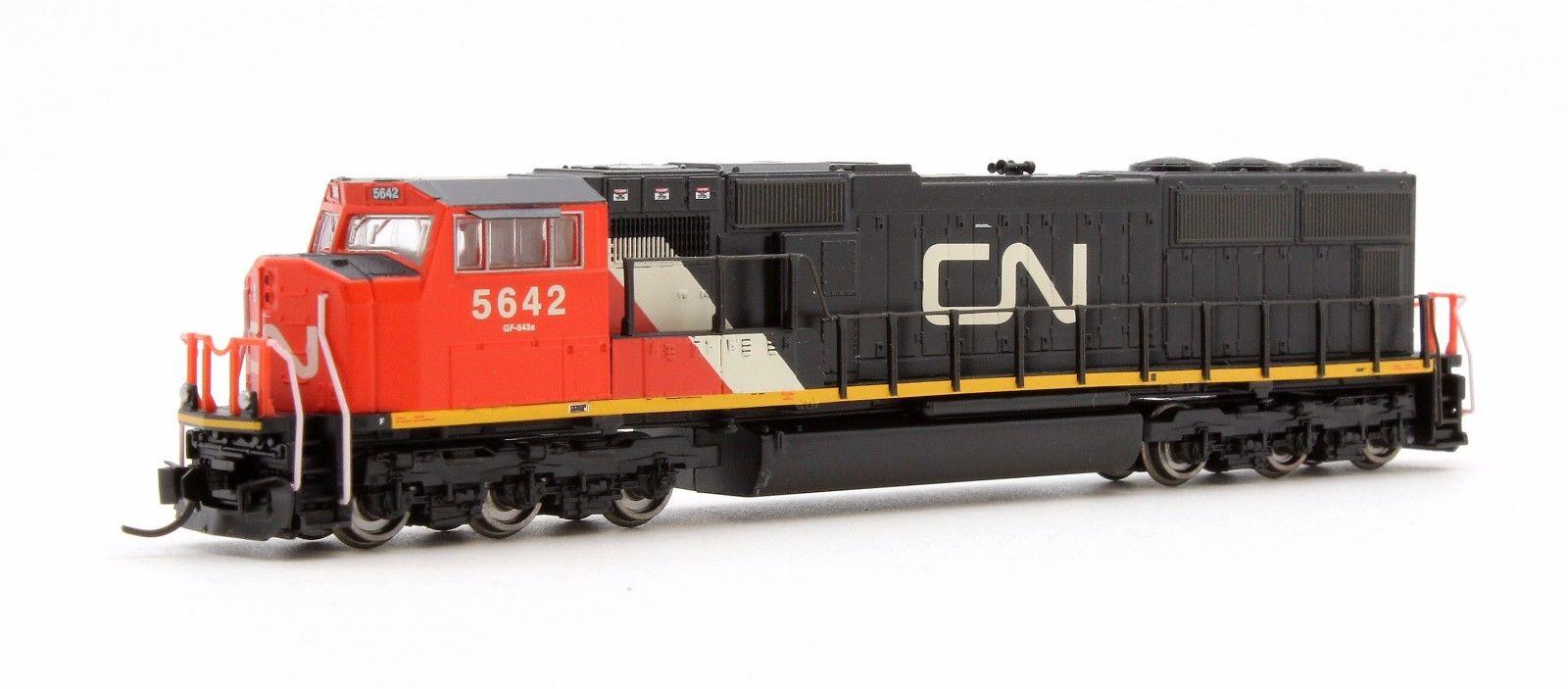 N Scale - Athearn - 10717 - Locomotive, Diesel, EMD SD75I - Canadian National - 5642
