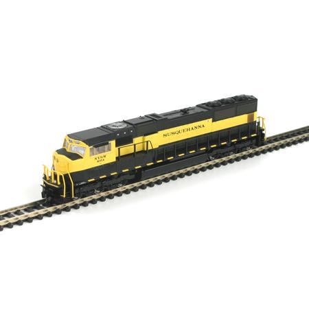 N Scale - Athearn - 10724 - Locomotive, Diesel, EMD SD70 - Susquehanna - 4054