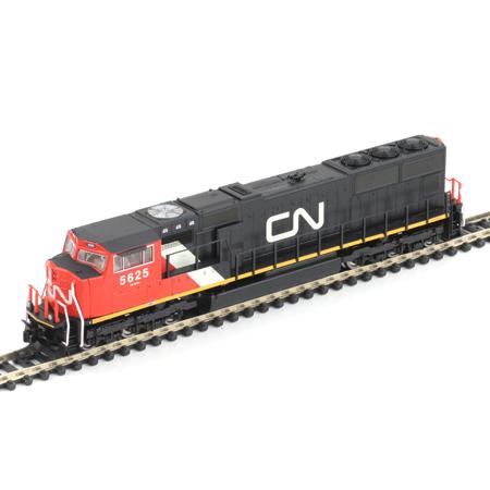 N Scale - Athearn - 10739 - Locomotive, Diesel, EMD SD70 - Canadian National - 5625