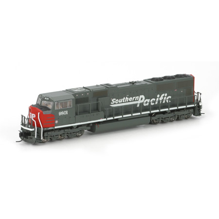 N Scale - Athearn - 17412 - Locomotive, Diesel, EMD SD70 - Southern Pacific - 9801
