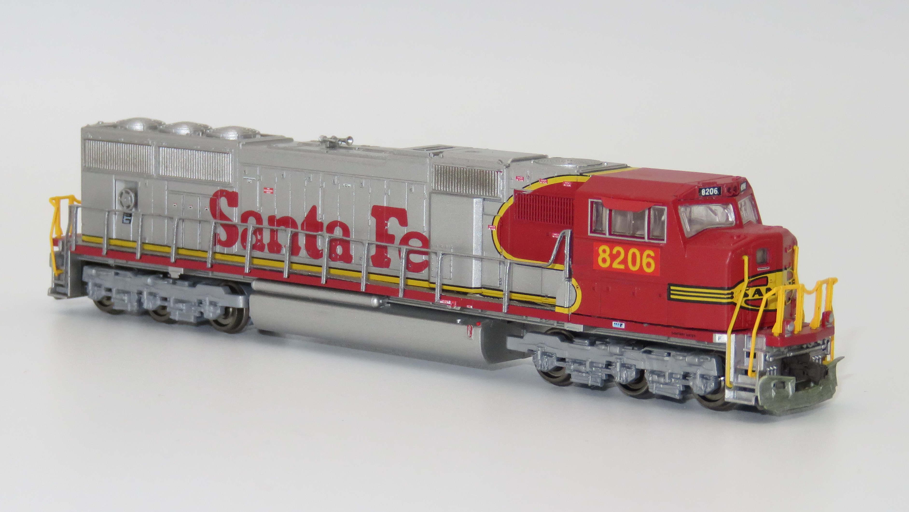 N Scale - Athearn - 17417 - Locomotive, Diesel, EMD SD75 - Santa Fe - 232