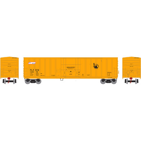 N Scale - Athearn - 06602 - Boxcar, 50 Foot, NACC Insulated - Jersey Central - 41031