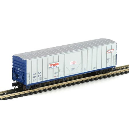 N Scale - Athearn - 10663 - Boxcar, 50 Foot, NACC Insulated - Trona Chemicals - 42899