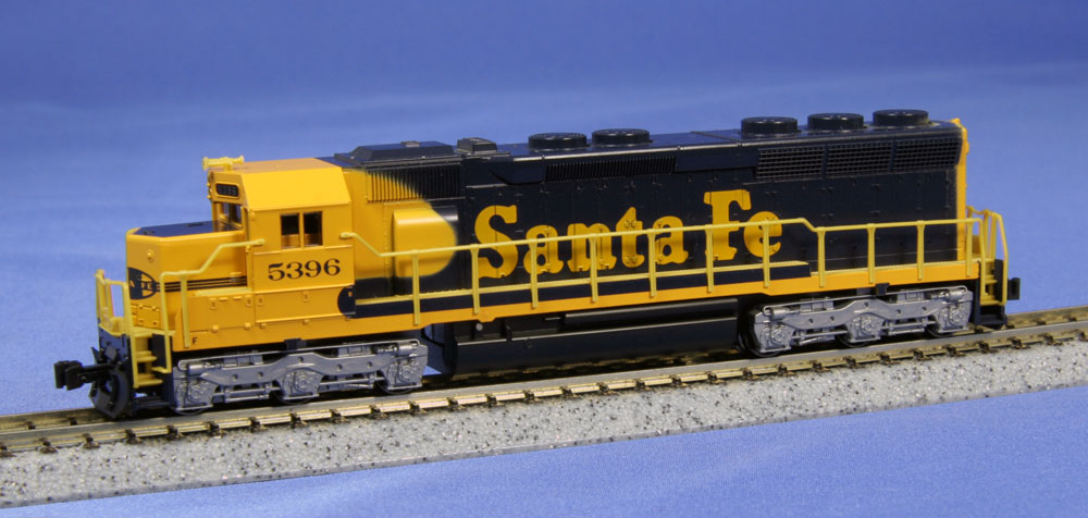 N Scale - Kato USA - 176-3129 - Locomotive, Diesel, EMD SD45 - Santa Fe - 5396