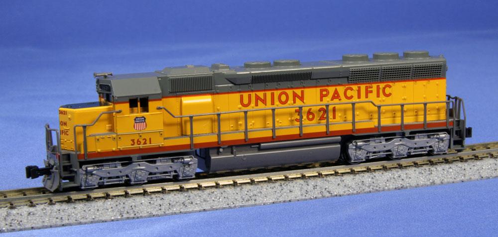 N Scale - Kato USA - 176-3133 - Locomotive, Diesel, EMD SD45 - Union Pacific - 3621