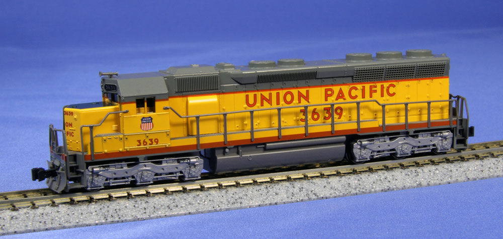 N Scale - Kato USA - 176-3134 - Locomotive, Diesel, EMD SD45 - Union Pacific - 3639