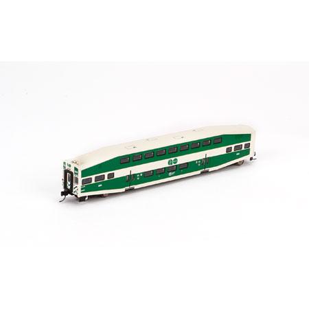 N Scale - Athearn - 24405 - Passenger Car, Commuter, Bombardier Multi-Level - Go Transit