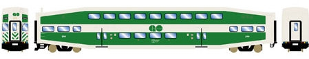 N Scale - Athearn - 26000 - Passenger Car, Commuter, Bombardier Multi-Level - Go Transit - 244