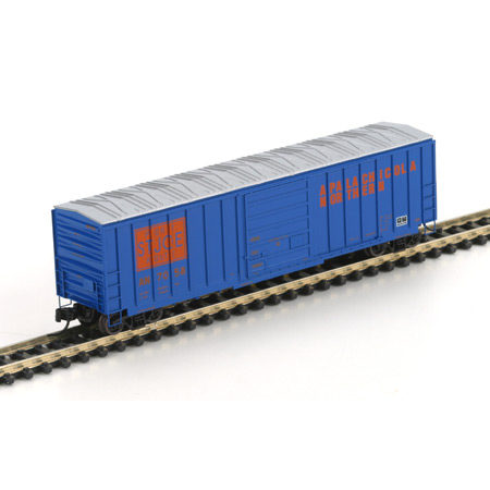 N Scale - Athearn - 12104 - Boxcar, 50 Foot, SIECO - Apalachicola Northern - 7058