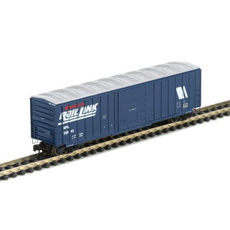 N Scale - Athearn - 12109 - Boxcar, 50 Foot, SIECO - Montana Rail Link - 20043