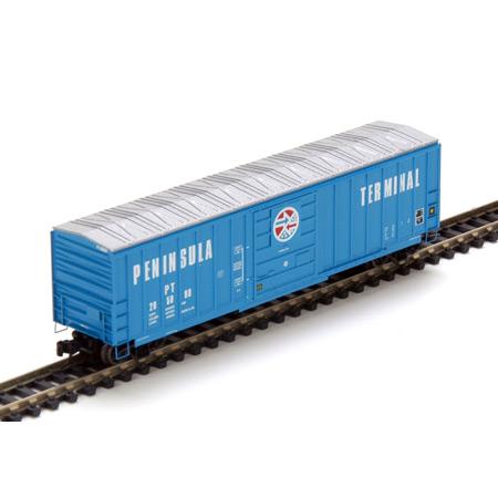 N Scale - Athearn - 12123 - Boxcar, 50 Foot, SIECO - Peninsula Terminal - 205000