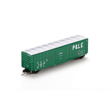 N Scale - Athearn - 22955 - Boxcar, 50 Foot, SIECO - Pittsburgh & Lake Erie - 39826