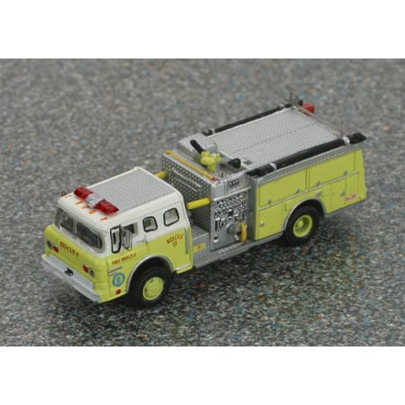 N Scale - Athearn - 10266 - Truck, Ford C-Series - Fire and Rescue