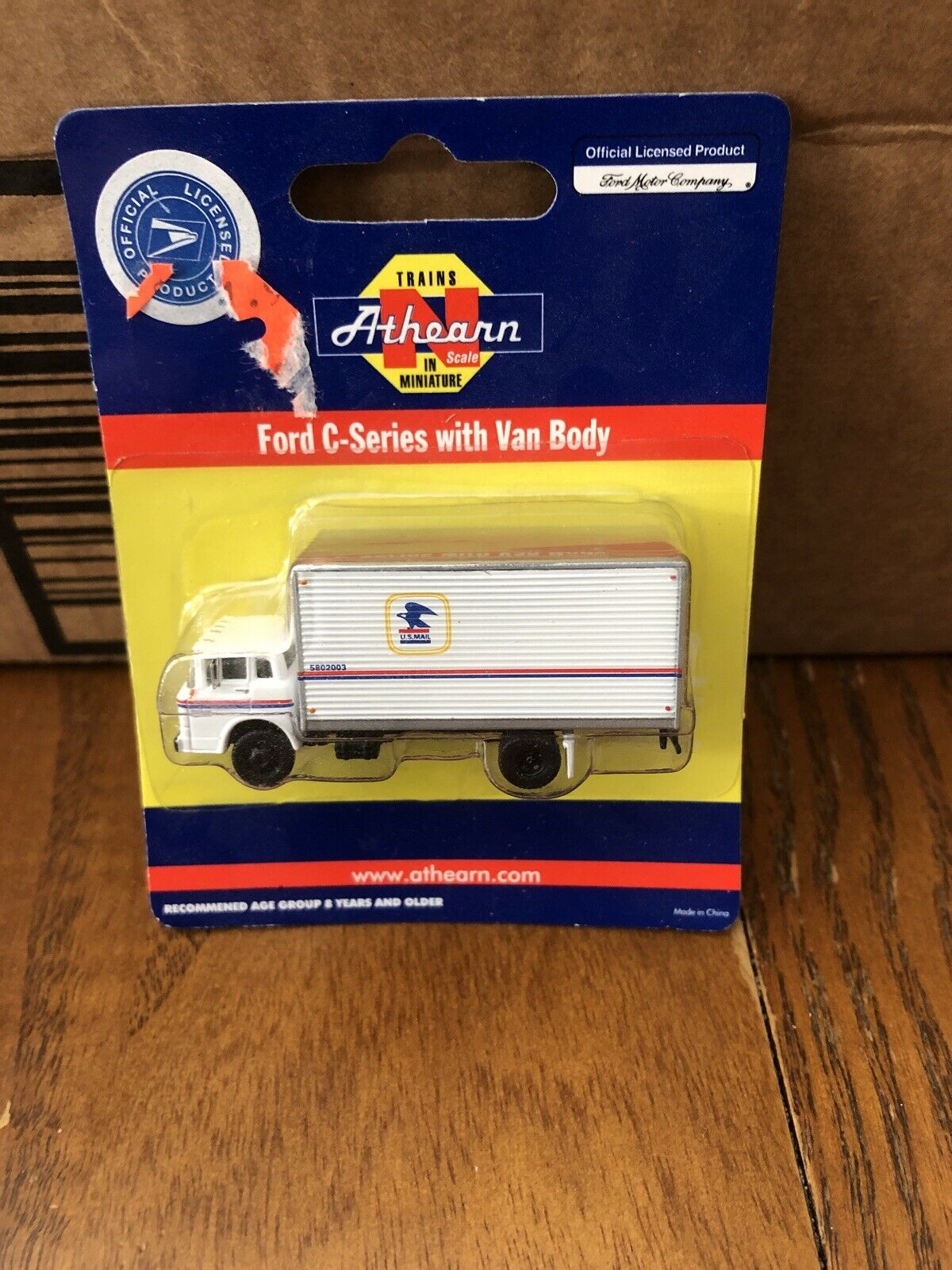 N Scale - Athearn - 10347 - Truck, Ford C-Series - United States Postal Service - Washington