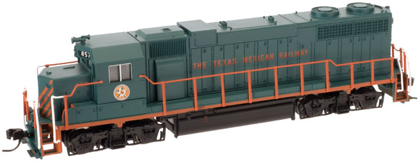 N Scale - Atlas - 40 000 265 - Locomotive, Diesel, EMD GP38 - Texas Mexican - 858