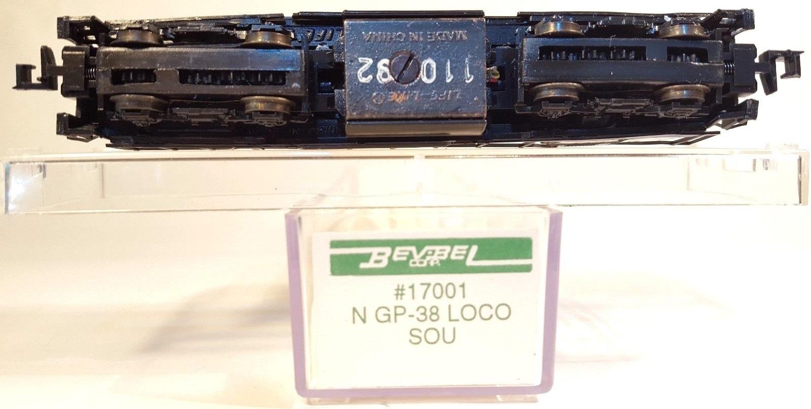 N Scale - Bev-Bel - 17001 - Locomotive, Diesel, EMD GP38-2 - Southern - 5049