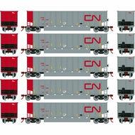 N Scale - Athearn - 24984 - Gondola, Bathtub, Bethgon Coalporter - Canadian National