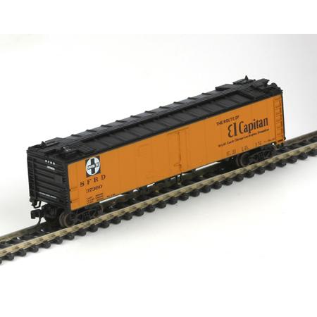 N Scale - Athearn - 11589 - Reefer, 50 Foot, RR-30 - Santa Fe - 37355