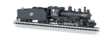 N Scale - Bachmann - 51456 - Engine, Steam, 4-6-0 Ten-wheeler - Chicago & North Western - 237