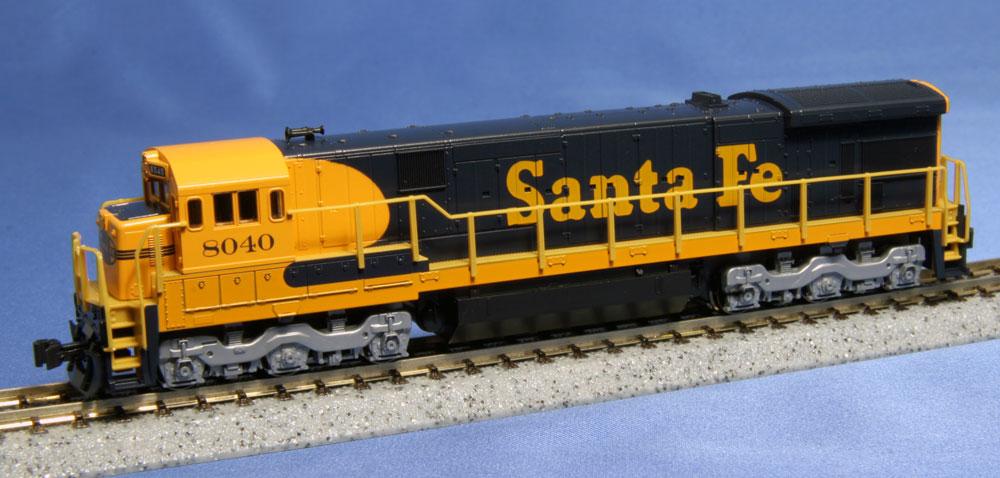 N Scale - Kato USA - 176-0943 - Engine, Diesel, C30-7 - Santa Fe - 8040