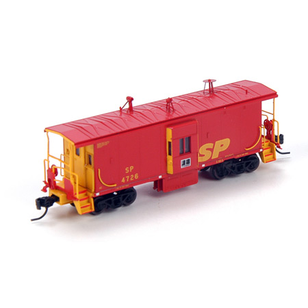 N Scale - Athearn - 23217 - Caboose, Bay Window - Southern Pacific - 4726
