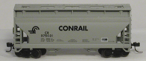 N Scale - Atlas - 39142 - Covered Hopper, 2-Bay, ACF Centerflow - Conrail - 875031