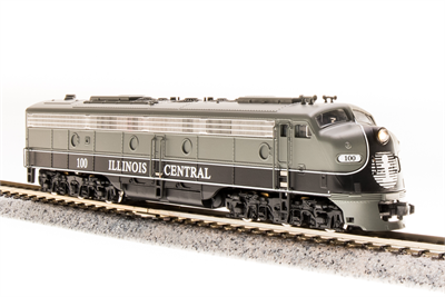 N Scale - Broadway Limited - 3248 - Locomotive, Diesel, EMD E8 - Illinois Central - 101
