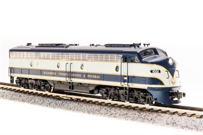N Scale - Broadway Limited - 3253 - Locomotive, Diesel, EMD E8 - Richmond Fredericksburg & Potomac - 1001