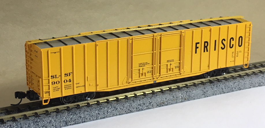 Industrial N Scale Freight Car Frisco