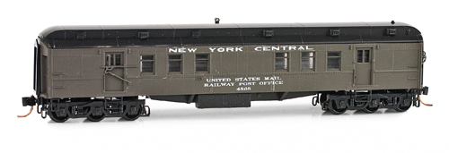 N Scale - Micro-Trains - 140 50 110 - Passenger Car, Heavyweight, Pullman RPO - New York Central - 4868