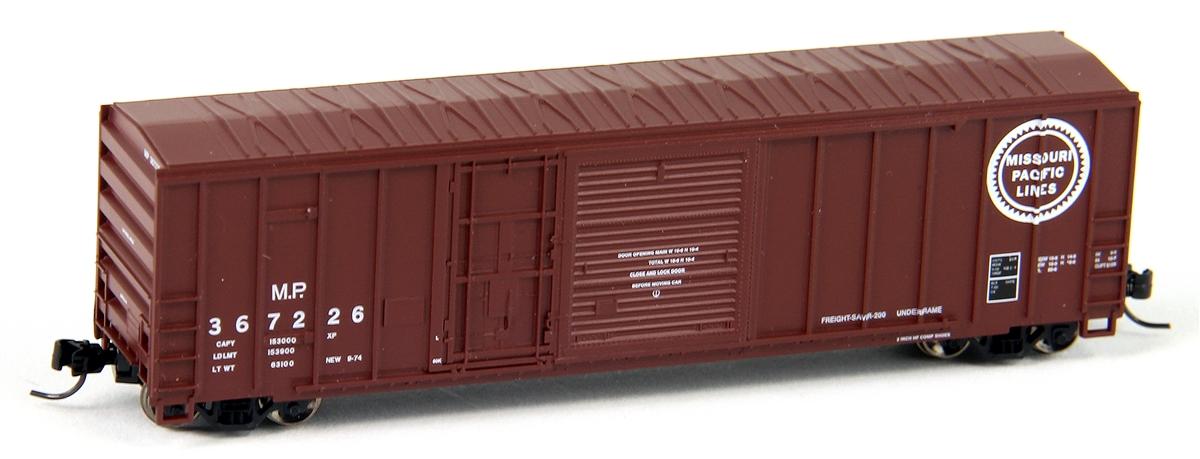 N Scale - Athearn - 24240 - Boxcar, 50 Foot, FMC, 5077 - Missouri Pacific - 367258