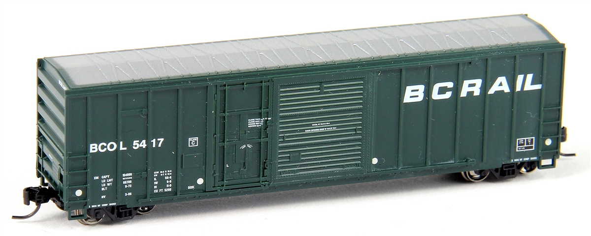 N Scale - Athearn - 24243 - Boxcar, 50 Foot, FMC, 5077 - British Columbia - 5435